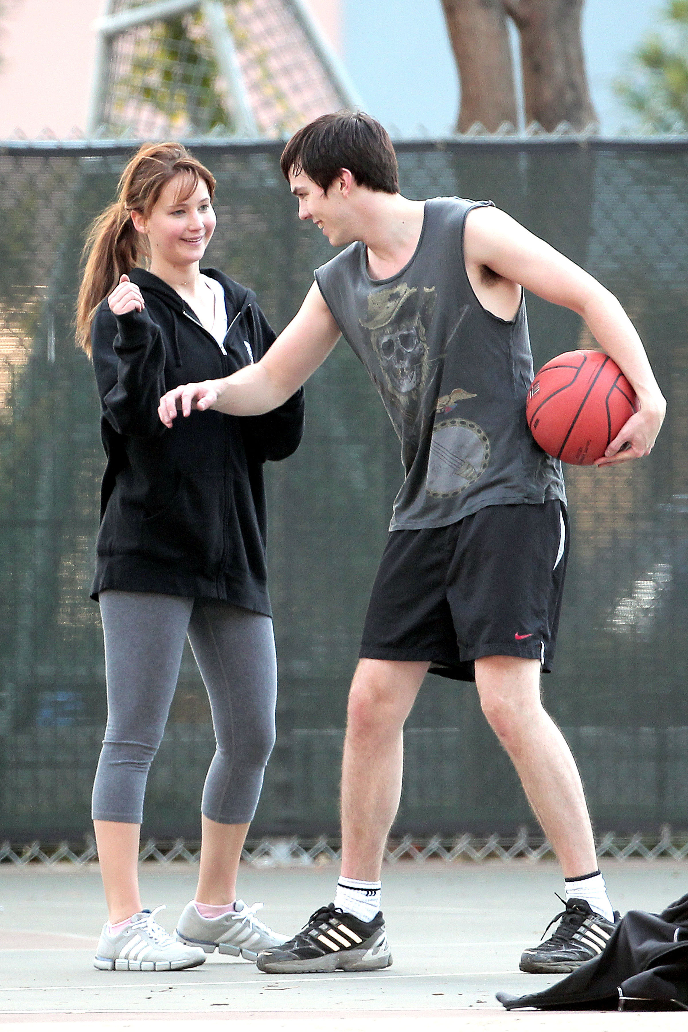 New photos: Jennifer Lawrence and Nicholas Hoult have fun playing ... Justin Timberlake Smiling