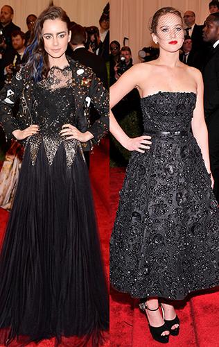 Jennifer Lawrence & Lily Collins