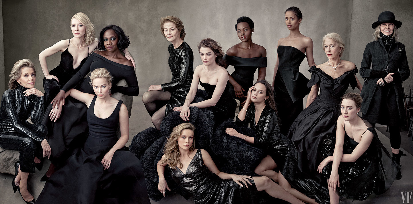 Jennifer is on the cover of Vanity Fair Hollywood Issue