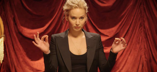 VF: Jennifer Lawrence Is a Surprisingly Good Mime